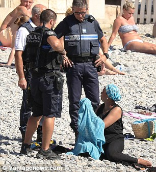 French police fine for burkinis