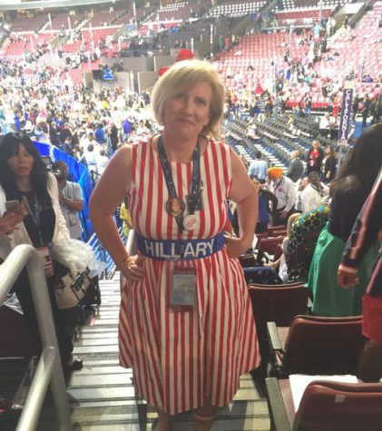 Convention delegate visits Northgate