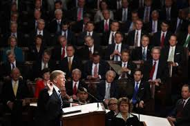 President Donald Trump addresses Congress for the first time, detailing his plans for the future of America.