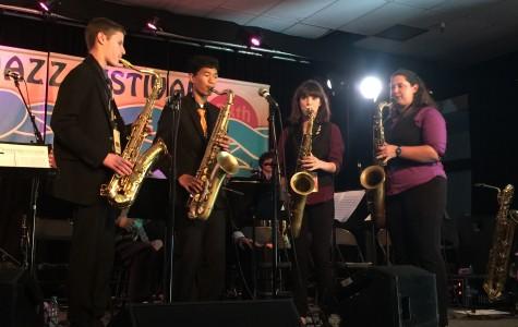 Northgate jazz band attends prestigious festival