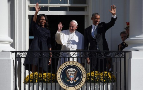 Pope receives a warm welcome from the U.S.