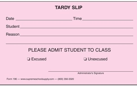 Reaction to new tardy policy