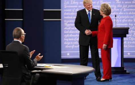 Fiery first presidential debate engages students