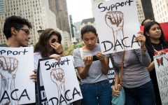 Students stand by Dreamers