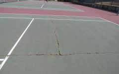 Repaving on the horizon for tennis courts