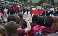 Never again: students stand up to gun violence