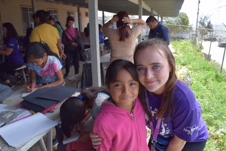 Students build houses in Mexico on spring break mission trip
