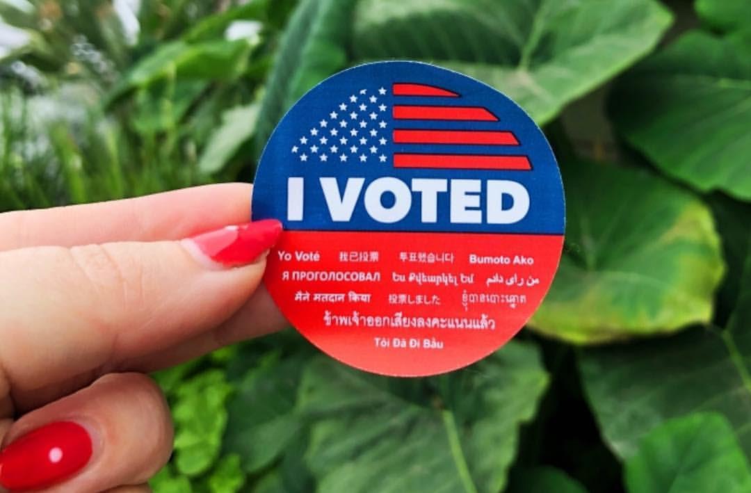 I Voted! sticker