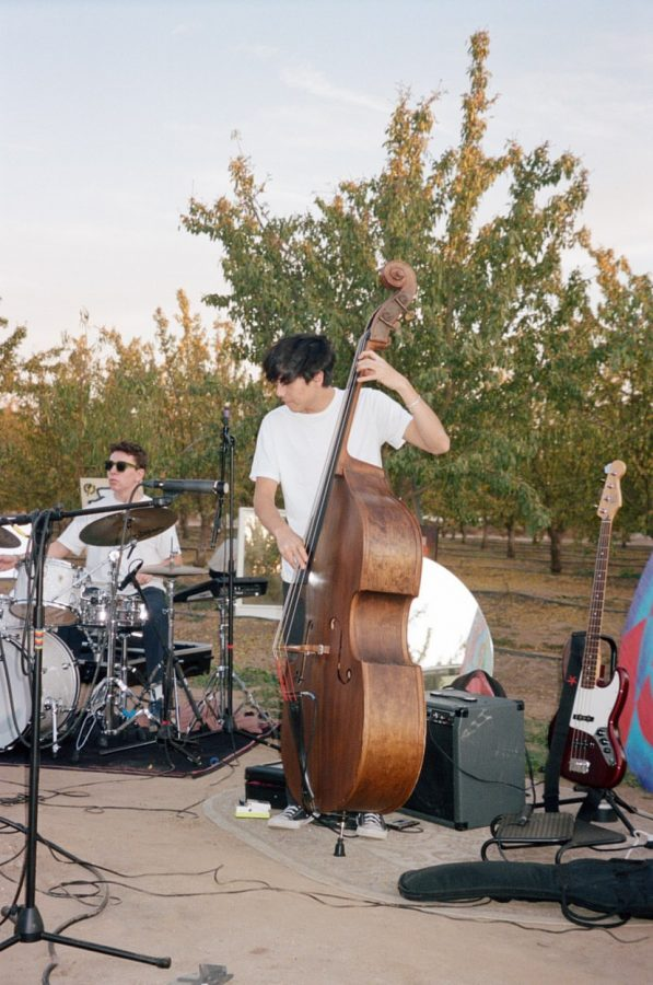 Bassist Aidan Pratte earned recognition by the National YoungArts Foundation in Jazz this year and last. The senior performs with Northgate's jazz and orchestra groups, as well as with SF Jazz  and other Bay Area music organizations.