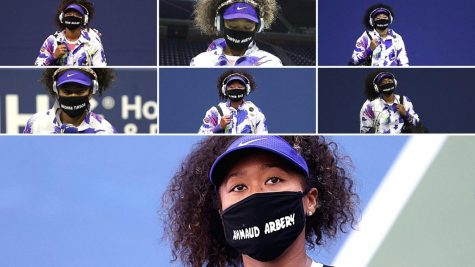Tennis player Naomi Osaka wore seven different face masks featuring the names and honoring seven victims of racial  profiling, injustice or police deaths on her way to winning seven matches to become the 2020 U.S. Open champion.