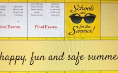 Spring finals take place during the week of May 24 for seniors, on Friday May 28 for those with A-period classes, and on June 1 and 2 for freshmen, sophomores and juniors.